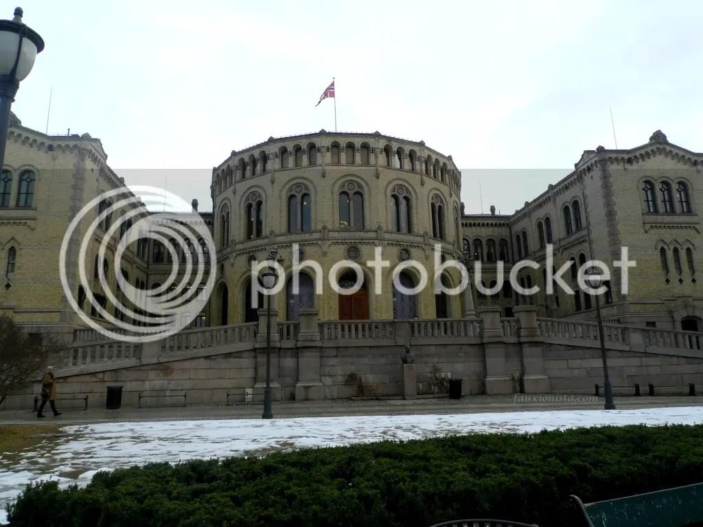 Norway Parliament Building Oslo