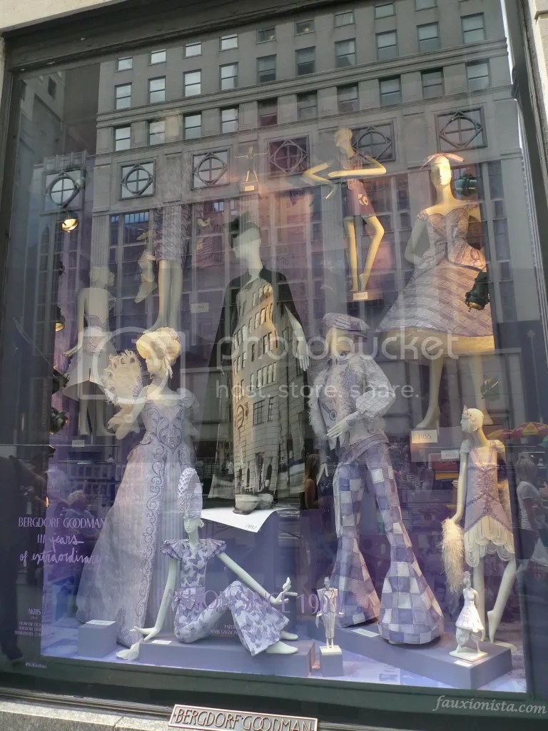 Bergdorf Goodman 111th anniversary window