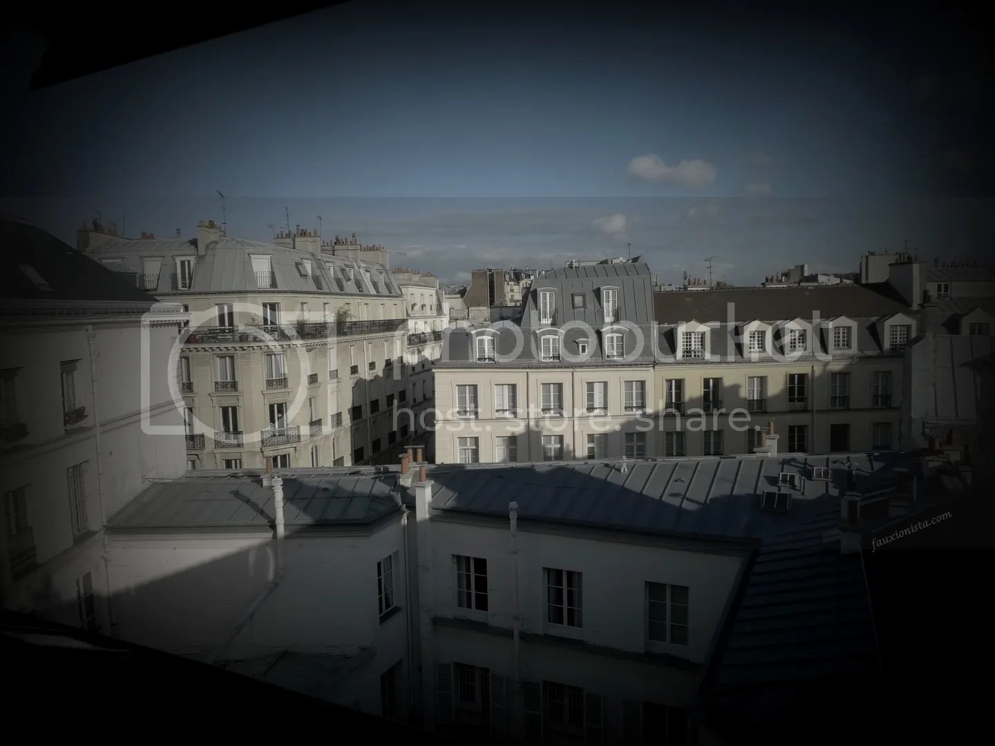 View from apt in Le Marais