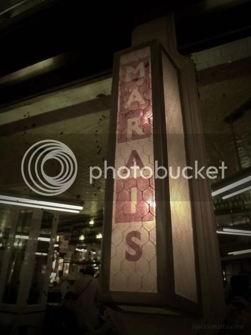 Cafe La Favorite Light Decor Paris Marais