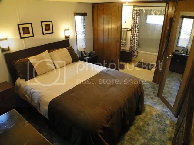 One of two nice bedrooms, North Carolina Homes, Macon County Real Estate, Houses in Franklin NC