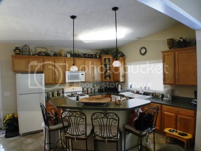 Beautiful kitchen with island is open to the living room, Keller Williams Real Estate, Franklin NC Realty