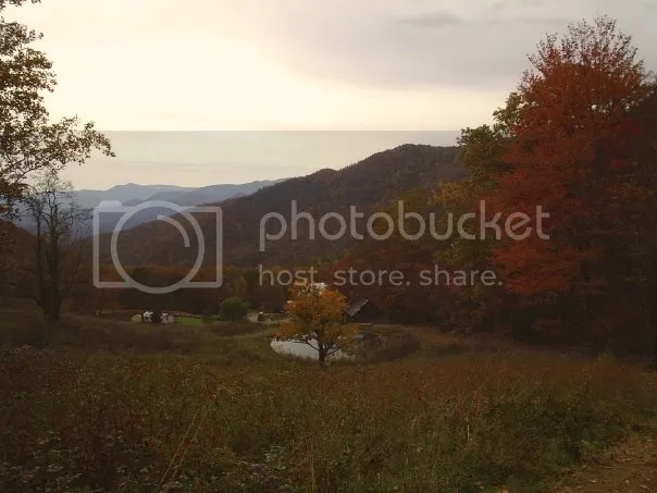 Fall in Franklin North Carolina, Farm in Franklin NC, Fall Foliage in Carolinas, Mountain View in Franklin NC
