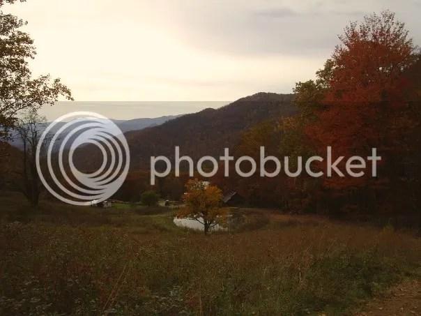 Fall in Franklin North Carolina, Farm in Franklin NC, Fall Foliage in Carolinas, Mountain View in Franklin NC