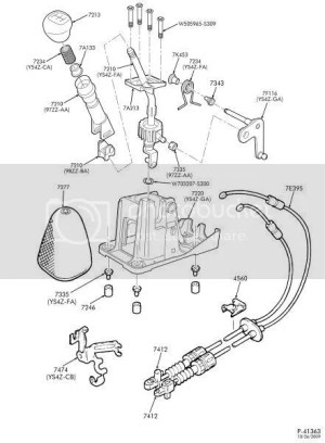 Shifter Assembly Parts  Ford Focus Forum, Ford Focus ST