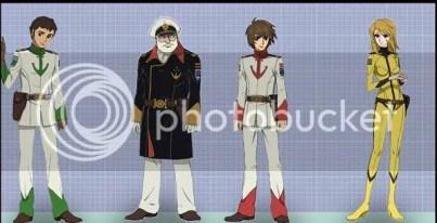 space battleship yamato 2199 characters