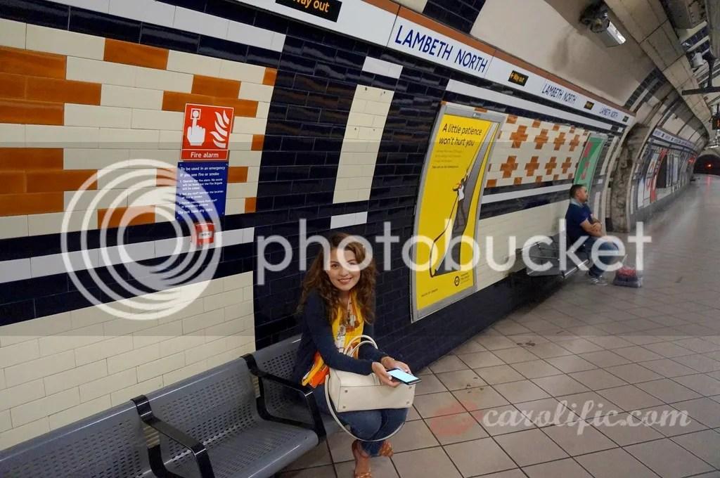 London, Travel, Europe, Lambeth North, London Underground,