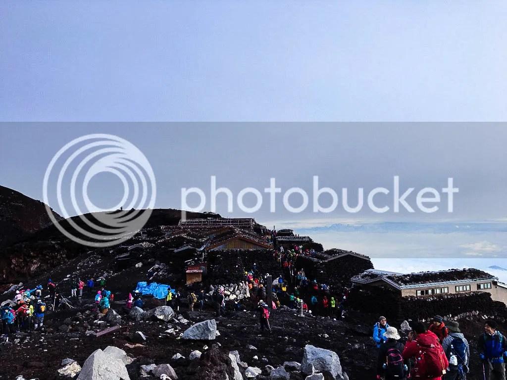 Fuji's Summit