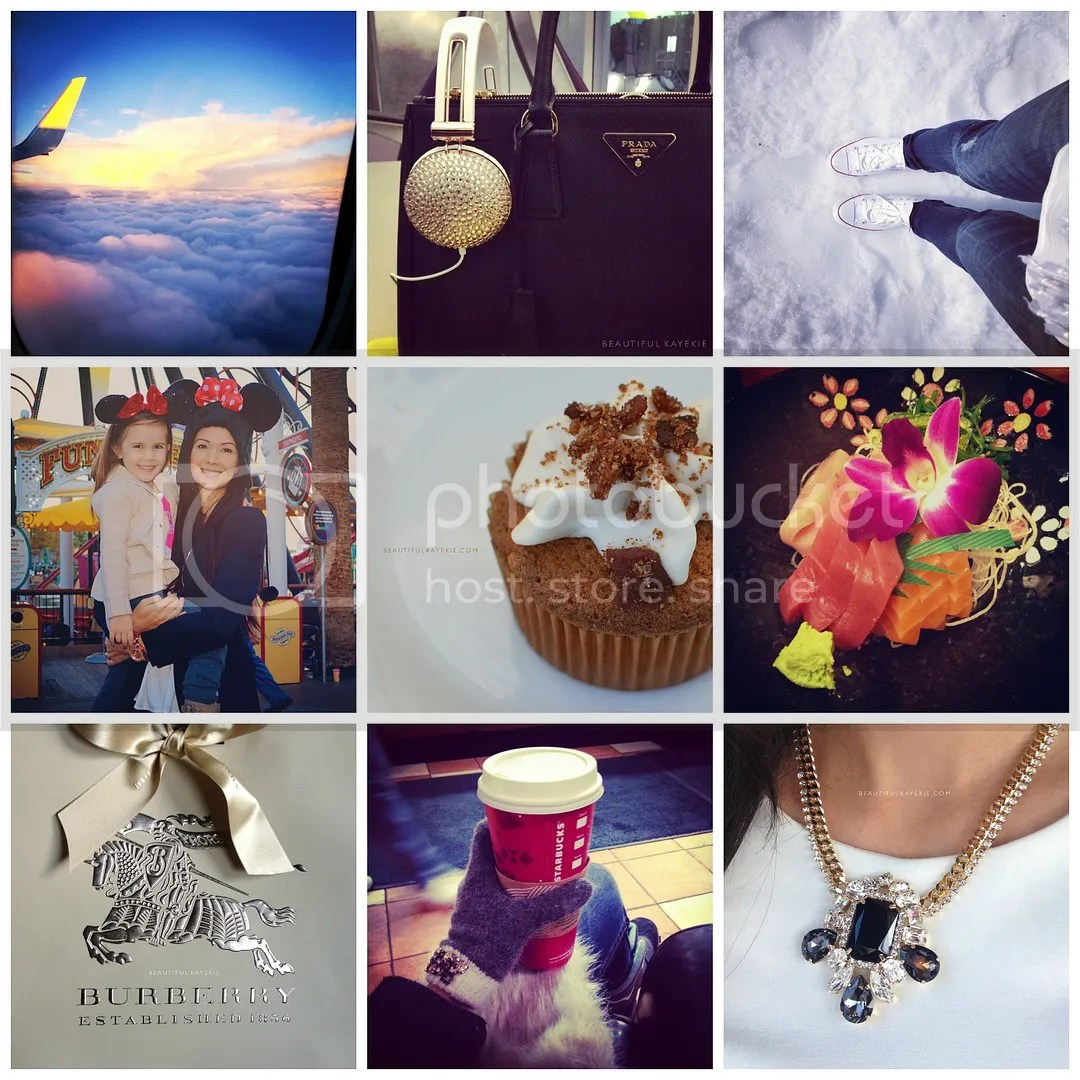 Holiday instagram catchup california