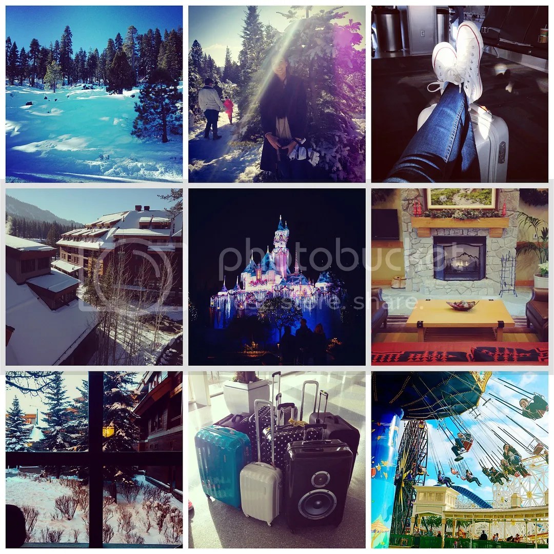 holiday instagram catchup california disneyland tahoe