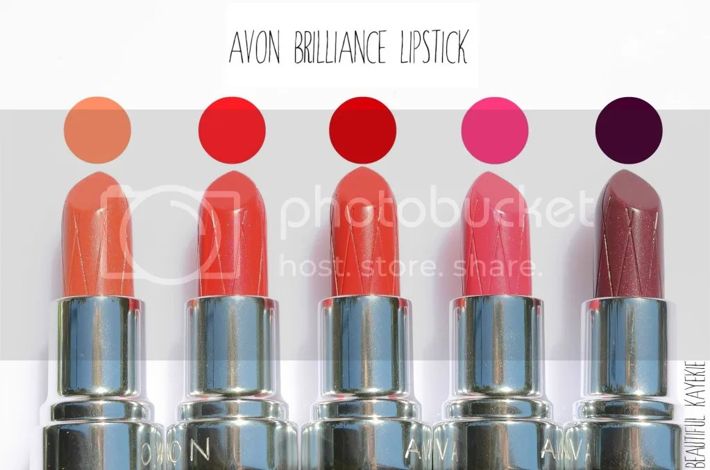 Avon Ultra Color Rich Brilliance Lipstick Swatch & Review