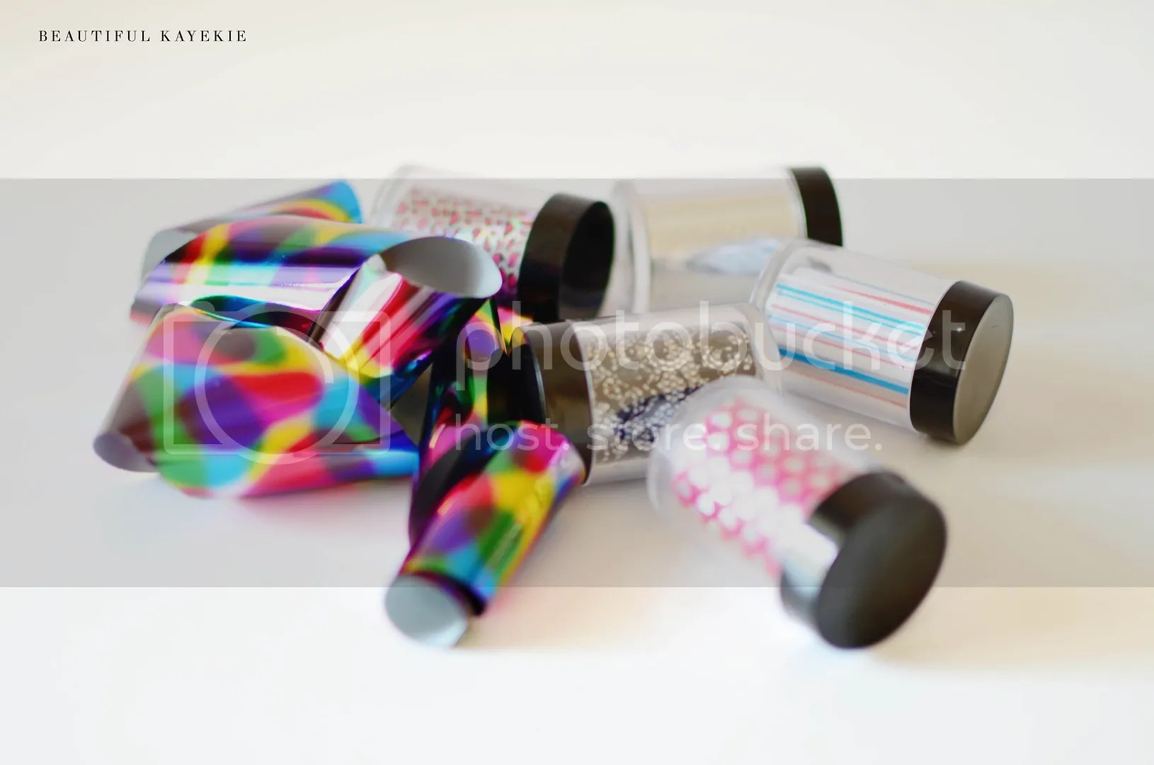 EpicNail foil nail art set