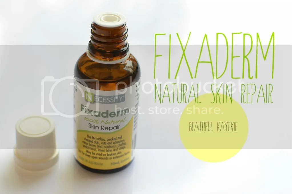 Fixaderm 100% Natural Skin Repair Review Beautiful Kayekie
