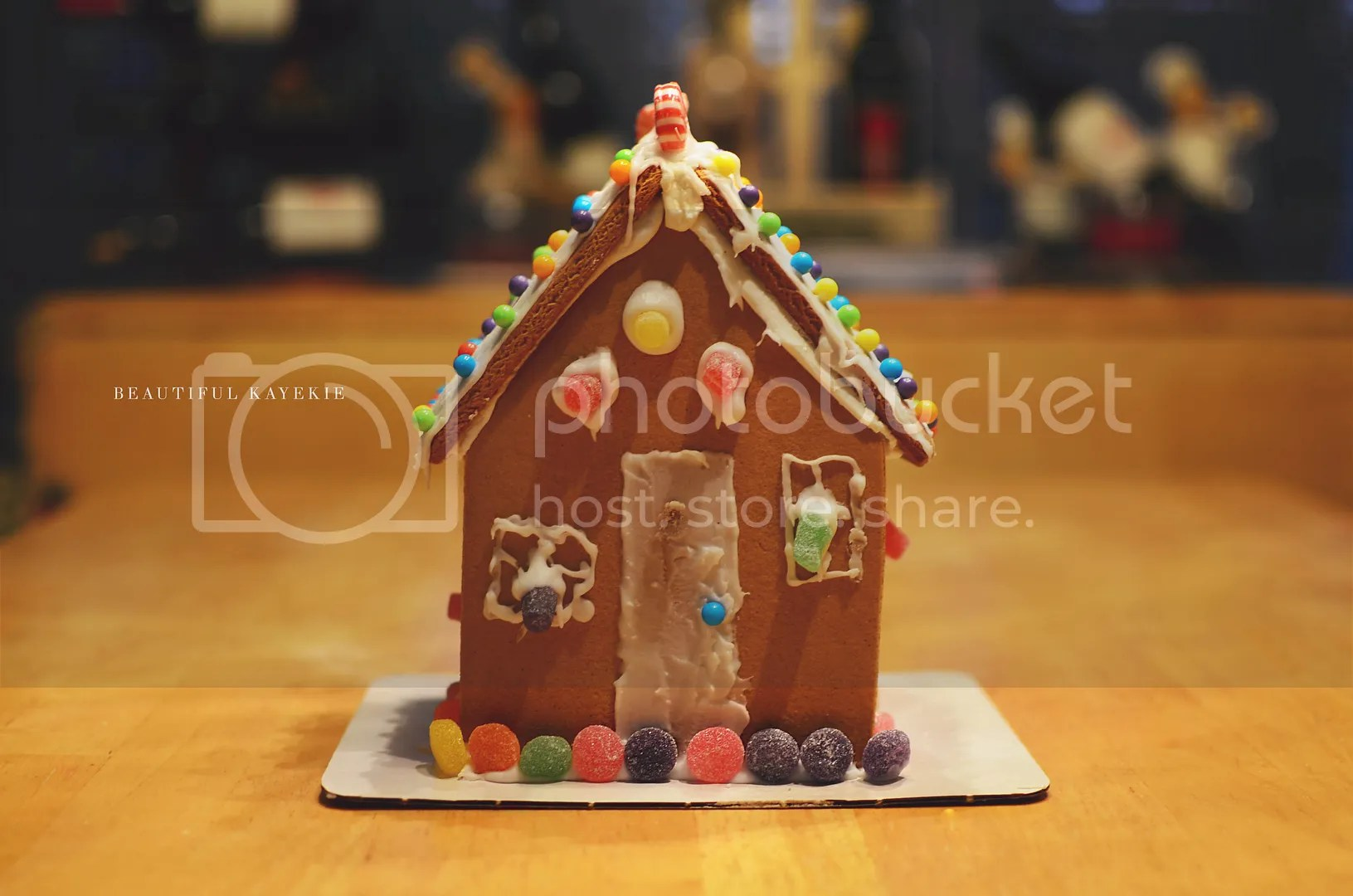 welcome to our gingerbread home