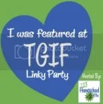 Featured at TGIF Linky Party hosted by 123Homeschool4Me
