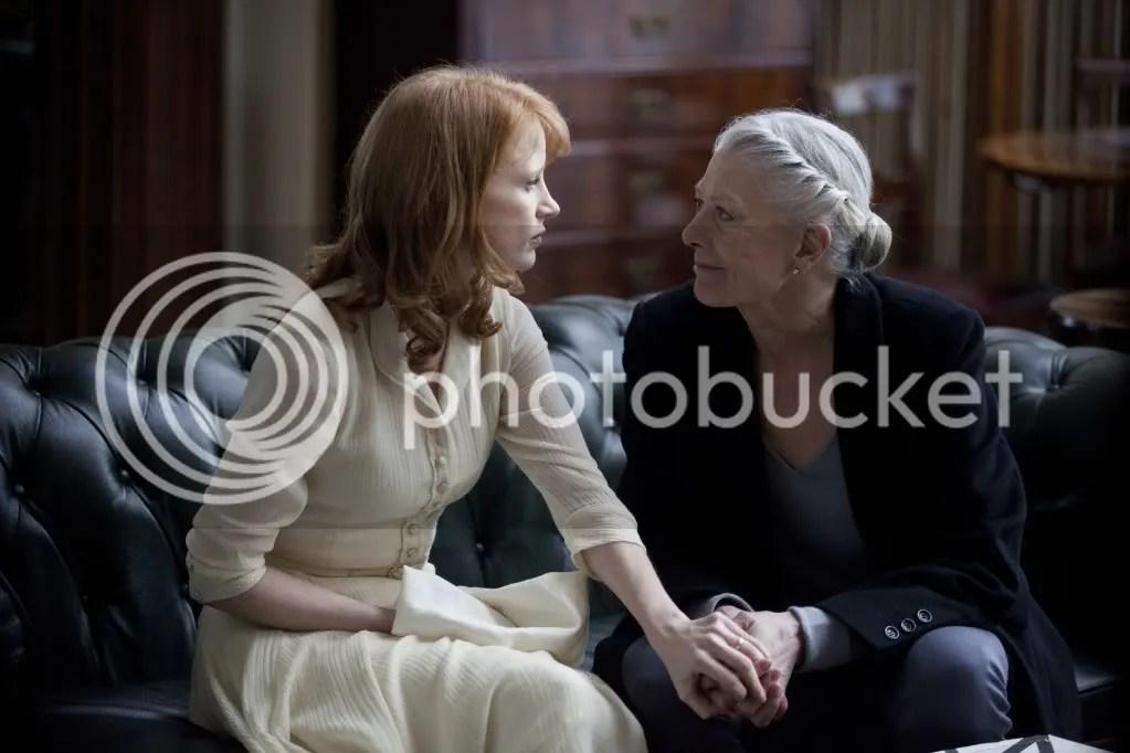Vanessa Redgrave y Jessica Chastain en Coriolanus