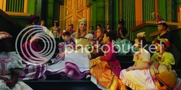 Michelle Williams en Oz, un mundo de fantasía