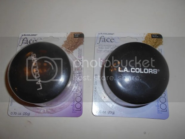 l.a.a colors profesional series loose powder