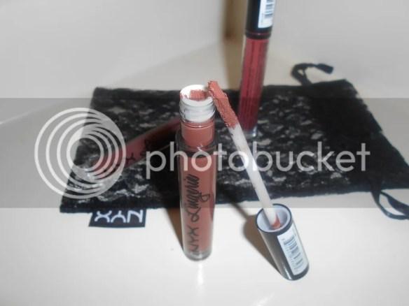 nyx cosmetics lingerie liquid lipsticks