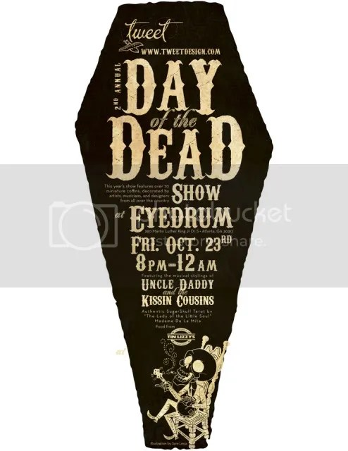 2nd Day of the Dead at Eyedrum, Oct 23-Nov 29