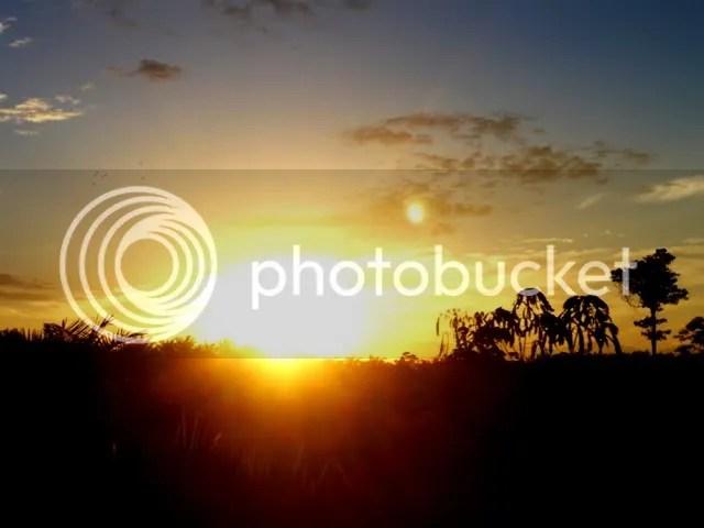 Sunrise on the ride from Ipuh to Muko-muko