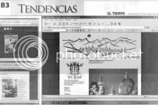 El pub en diario EL TIEMPO