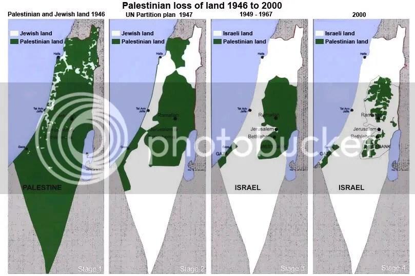Apropio ILEGAL de tierras palestinas