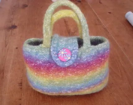 My rainbow bag