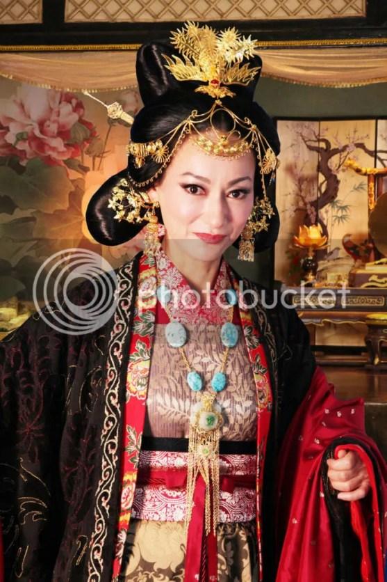 Kara Hui as a glamorous imperial concubine. Credit: Funn Lim
