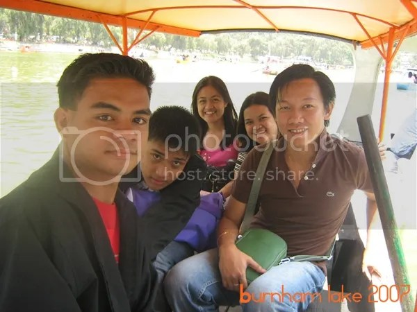 Baguio DIY Tour - Burnham Lake Boating
