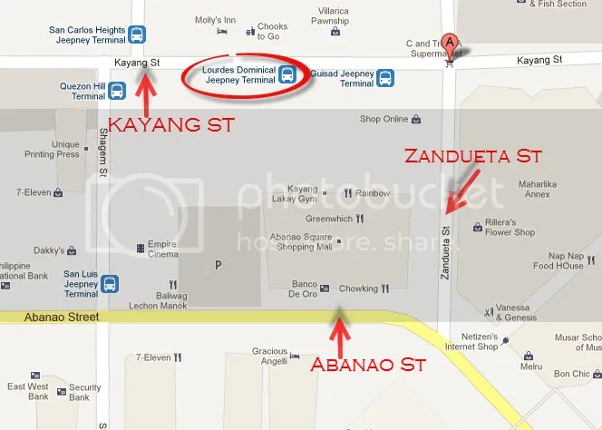 Baguio Day Tour - Lourdes - Dominican Hill Jeepney Terminal