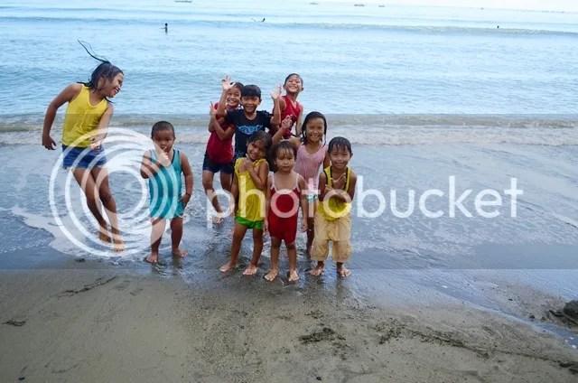 Local kids Sabang Beach