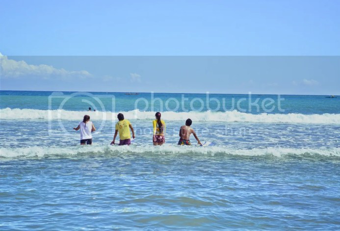 Surfing in Baler Secret Point Surf Spot