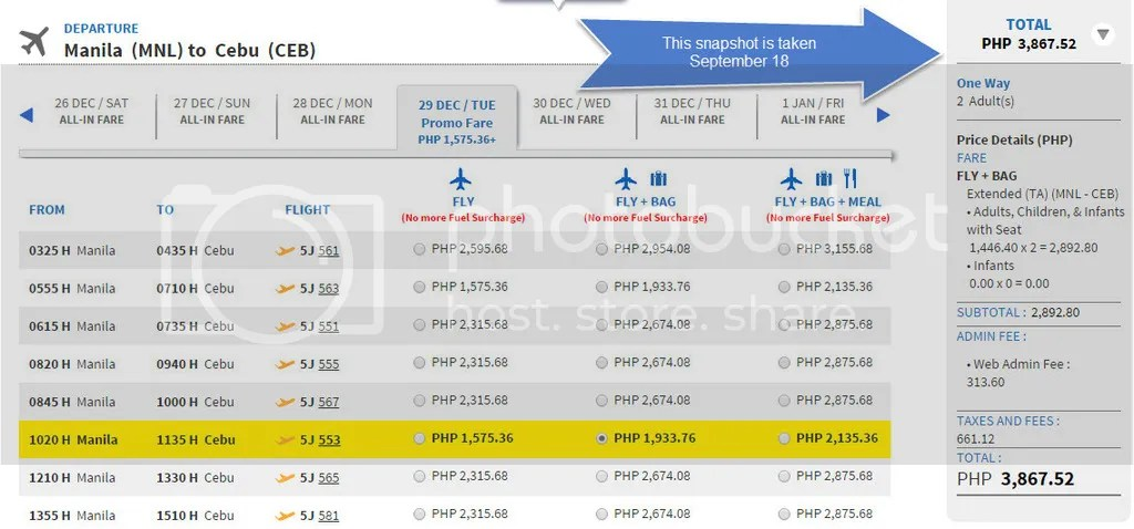Cancelled Flight Rebooking Cebu Pacific