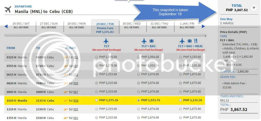 Cancelled Flight Rebooking Cebu Pacific