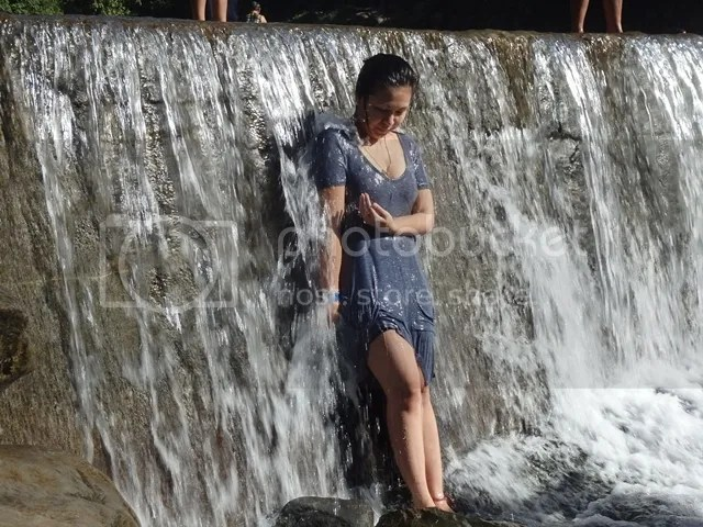 Refreshing dip in Dalitiwan