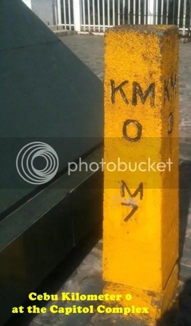 Cebu KM 0 or Kilometer Zero