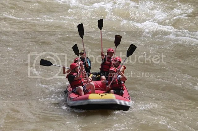 Experience Kiulu River white water rafting