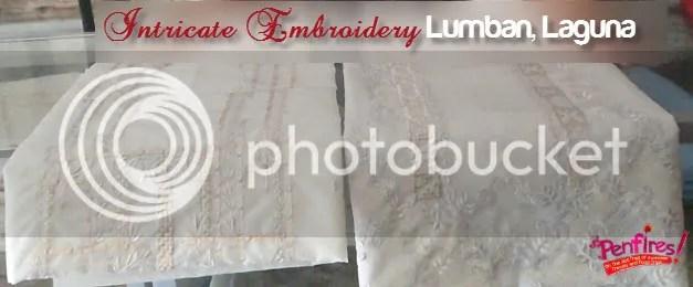 Embroidery from Lumban in Laguna