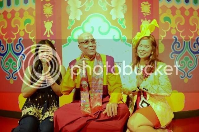dalai lama wax figure