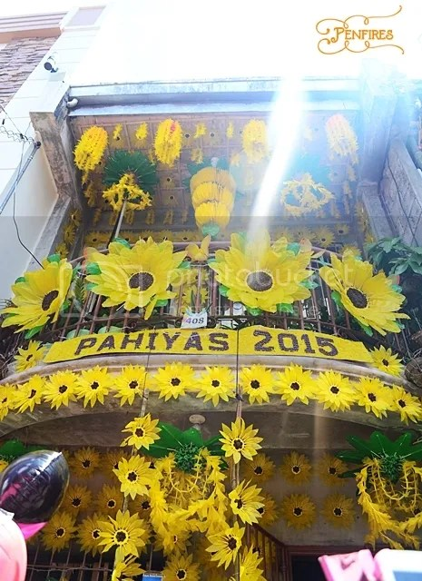 Sunflower Yellow House Pahiyas Festival