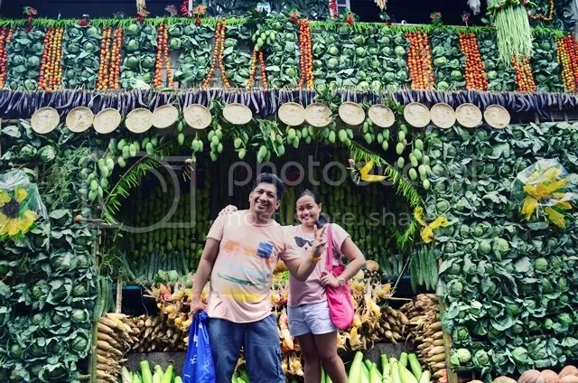 Abundance of harvest at Lucban