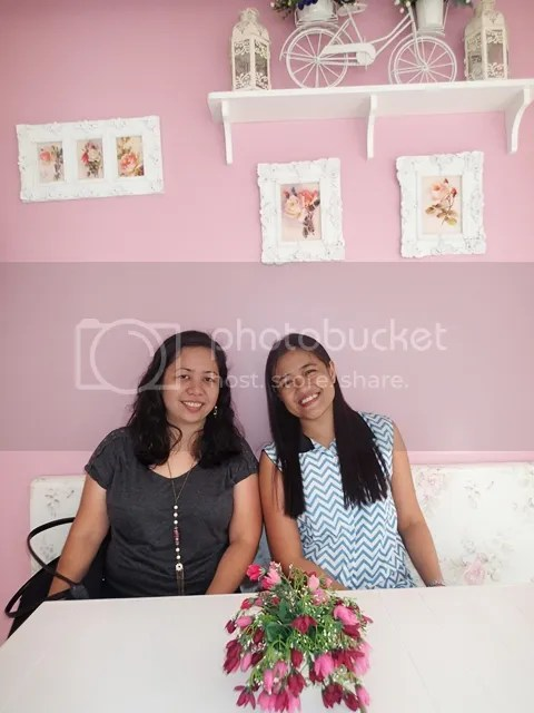At Phoebe's Cupcakery in Maria Luisa