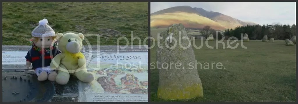 At Castlerigg Stone Circle