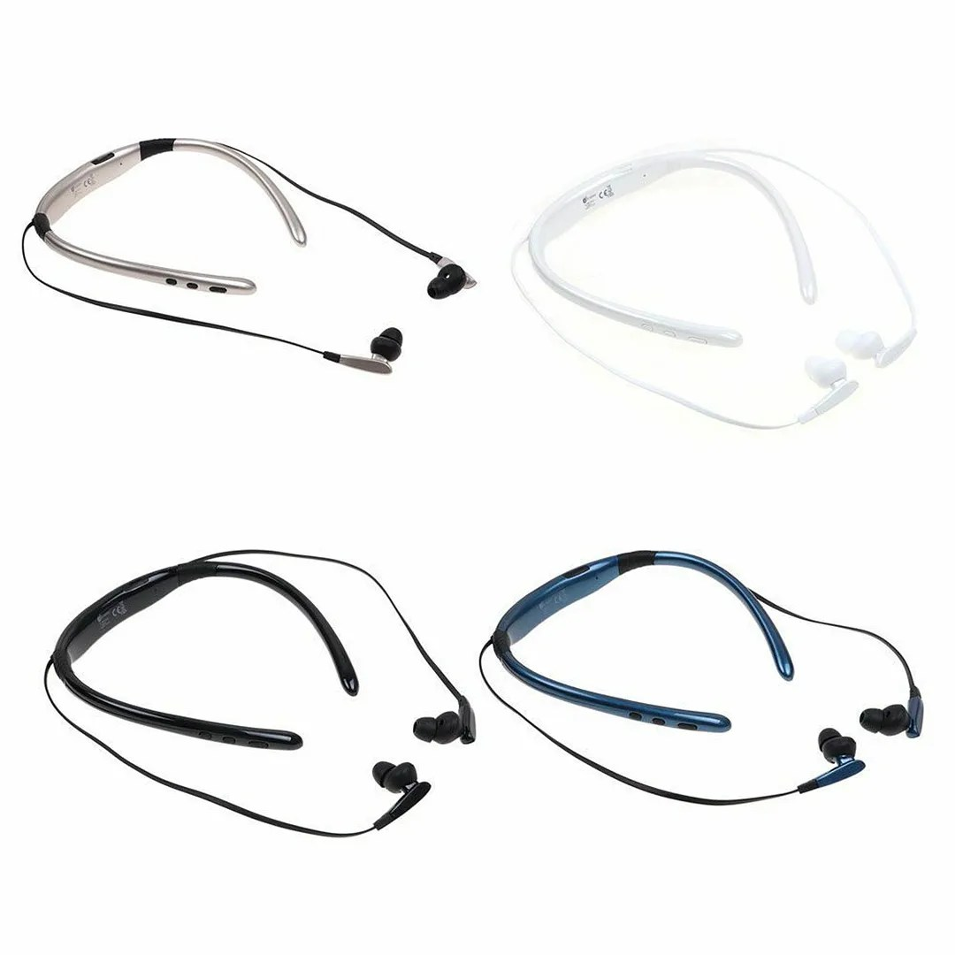 Wireless Bluetooth Headset Hd Sound Stereo Earpiece For