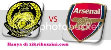 malaysiavsarsenal2011.png malaysia vs arsenal, malaysia vs arsenal, keputusan terkini malaysia vs arsenal 2011