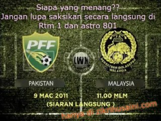 malaysia vs pakistan, 2nd leg perlawanan malaysia vs pakistan , jadual perlawanan malaysia vs pakistan 2nd leg, keputusan terkini malaysia vs pakistan 2011