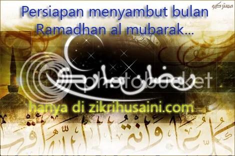 persiapan bulan ramadhan almubarak, bulan puasa menjelang kembali, persiapan bulan puasa 2011, apa yang perlu disiapkan sebelum bulan puasa