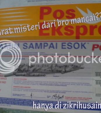 suratmisteri.png , surat pos ekspress, gambar surat, surat ekspress, mesti sampai esok punya!