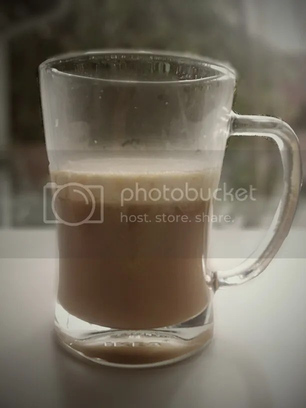 Butterbeer Recipe #1 with foam